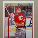 1991-92 O-Pee-Chee Premier #9 Mike Vernon Calgary Flames
