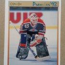 1991-92 O-Pee-Chee Premier #18 Bill Ranford Edmonton Oilers