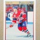 1991-92 O-Pee-Chee Premier #58 Russ Courtnall Montreal Canadiens