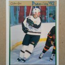 1991-92 O-Pee-Chee Premier #80 Craig Ludwig Minnesota North Stars