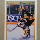 1991-92 O-Pee-Chee Premier #133 Andy Moog Boston Bruins