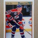 1991-92 O-Pee-Chee Premier #137 Dave Manson Edmonton Oilers