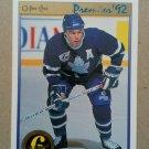 1991-92 O-Pee-Chee Premier #151 Bob Rouse Toronto Maple Leafs