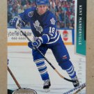 1993-94 Parkhurst #204 Kent Manderville Toronto Maple Leafs