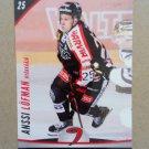 2015-16 Cardset Finland #056 Anssi Lofman JYP Jyvaskyla