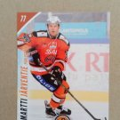 2015-16 Cardset Finland #216 Martti Jarventie HPK Hameenlinna