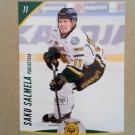 2015-16 Cardset Finland #230 Saku Salmela Ilves Tampere