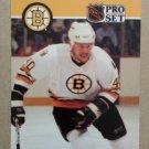 1990-91 Pro Set #411 Bruce Shoebottom Boston Bruins