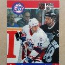 1990-91 Pro Set #557 Scott Arniel Winnipeg Jets