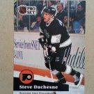 1991-92 Pro Set French #96 Steve Duchesne Philadelphia Flyers