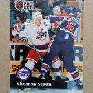 1991-92 Pro Set French #271 Thomas Steen Winnipeg Jets