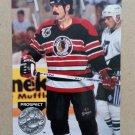 1991-92 Pro Set Platinum #166 Michel Goulet Chicago Blackhawks