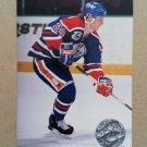 1991-92 Pro Set Platinum #172 Dave Manson Edmonton Oilers