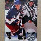 1991-92 Pro Set Platinum #273 Stu Barnes Winnipeg Jets