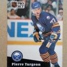 1991-92 Pro Set #15 Pierre Turgeon Buffalo Sabres
