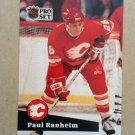 1991-92 Pro Set #31 Paul Ranheim Calgary Flames