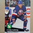 1991-92 Pro Set #155 Craig Ludwig Minnesota North Stars