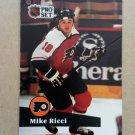1991-92 Pro Set #170 Mike Ricci Philadelphia Flyers