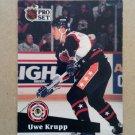 1991-92 Pro Set #301 Uwe Krupp Buffalo Sabres