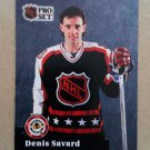 1991-92 Pro Set #305 Denis Savard Montreal Canadiens