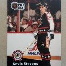 1991-92 Pro Set #314 Kevin Stevens Pittsburgh Penguins