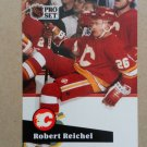 1991-92 Pro Set #361 Robert Reichel Calgary Flames