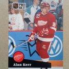 1991-92 Pro Set #376 Alan Kerr Detroit Red Wings