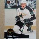 1991-92 Pro Set #405 Mike Craig Minnesota North Stars