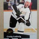 1991-92 Pro Set #411 Craig Ludwig Minnesota North Stars
