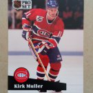 1991-92 Pro Set #412 Kirk Muller Montreal Canadiens