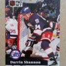 1991-92 Pro Set #515 Darrin Shannon Winnipeg Jets