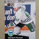 1991-92 Pro Set #538 Michel Picard Hartford Whalers Rookie