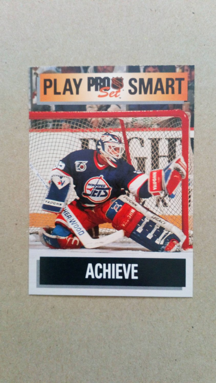 1992-93 Pro Set #267 Bob Essensa Winnipeg Jets