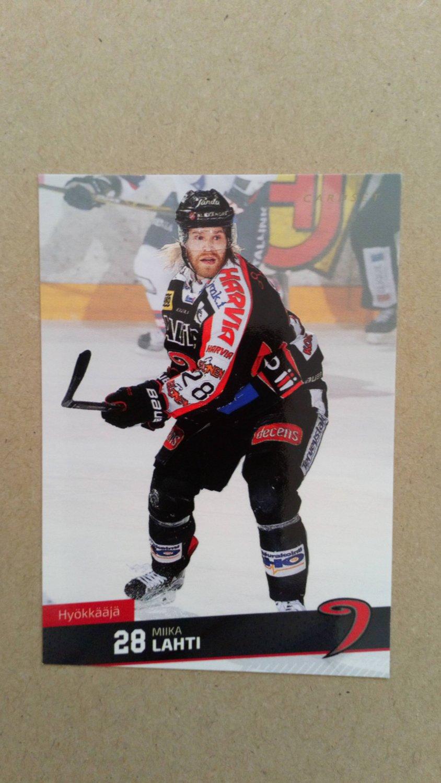 2016-17 Cardset Finland #057 Miika Lahti JYP Jyvaskyla