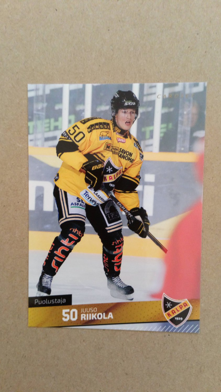 2016-17 Cardset Finland #066 Juuso Riikola KalPa Kuopio