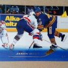 1995-96 Pinnacle #123 Jason Dawe Buffalo Sabres