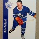 1994 Parkhurst Missing Link 1956-57 #113 Bob Pulford Toronto Maple Leafs