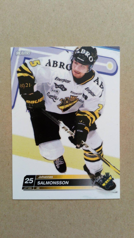2010-11 SHL Elitset #149 Johannes Salmonsson A.I.K