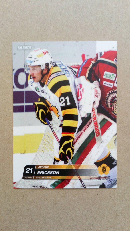 2010-11 SHL Elitset #259 Jimmie Ericsson Skelleftea AIK