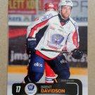 2011-12 City-Press HockeyAllsvenskan #ALLS-047 Brent Davidson Boras HC