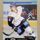 2011-12 City-Press HockeyAllsvenskan #ALLS-220 Christoffer Persson IF Sundsvall