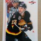 1995-96 Score #23 Jeff Brown Vancouver Canucks