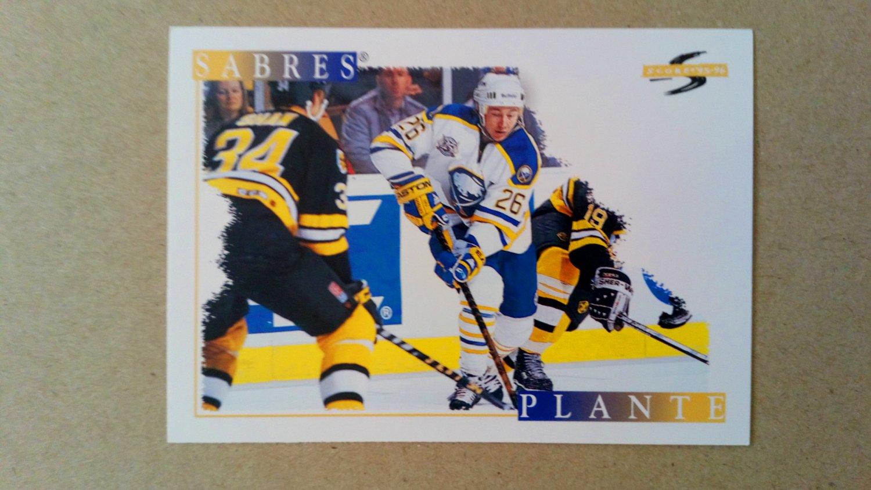 1995-96 Score #213 Derek Plante Buffalo Sabres