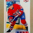 1995-96 Score #266 Mike Keane Montreal Canadiens