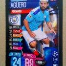 2019-20 Topps Match Attax UEFA Champions League #17 Sergio Aguero Manchester City