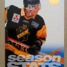 1995-96 Leaf Elit Set Sweden #3 A.I.K Season Stats