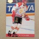 1995-96 Leaf Elit Set Sweden #16 Stefan Klockare Brynas IF