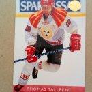 1995-96 Leaf Elit Set Sweden #22 Thomas Tallberg Brynas IF