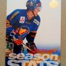 1995-96 Leaf Elit Set Sweden #26 Djurgardens IF Season Stats