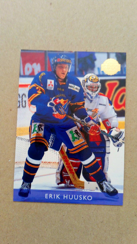 1995-96 Leaf Elit Set Sweden #32 Erik Huusko Djurgardens IF